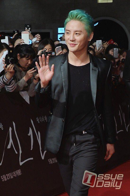 Junsu Baby at 'The Treacherous' VIP Premiere ❤️ JYJ Hearts