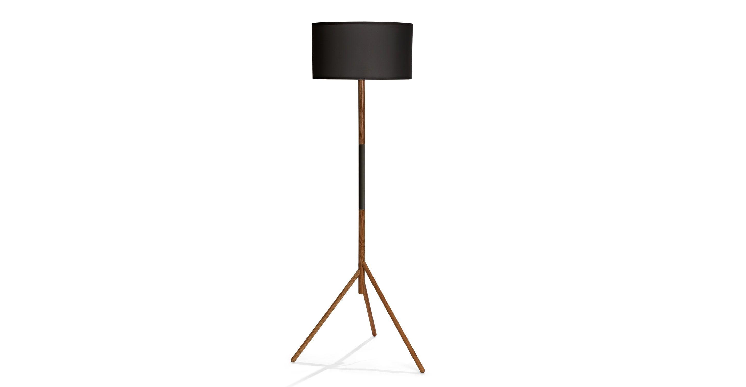 Stilt Black Floor Lamp Rashmi Black Floor Lamp White