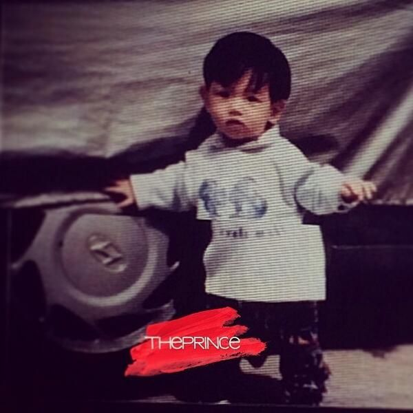 aaawww baby baek so cute <3