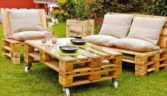 Wooden Pallet Furniture   DIY Pallet Garden Ideas, Pallet Projects   Part 5 Pallet  Patio Part 54