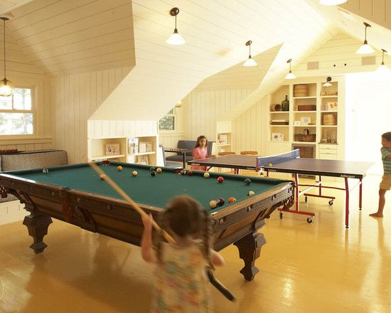 Family Room Attic Design, Pictures, Remodel, Decor and Ideas - page ...