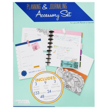 Planning and Journaling Accessory Set by Leisure Arts