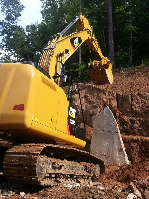 Machine Meets Rock By Haywood Landscapes Landscaping With Large Rocks Landscaping With Rocks Landscape