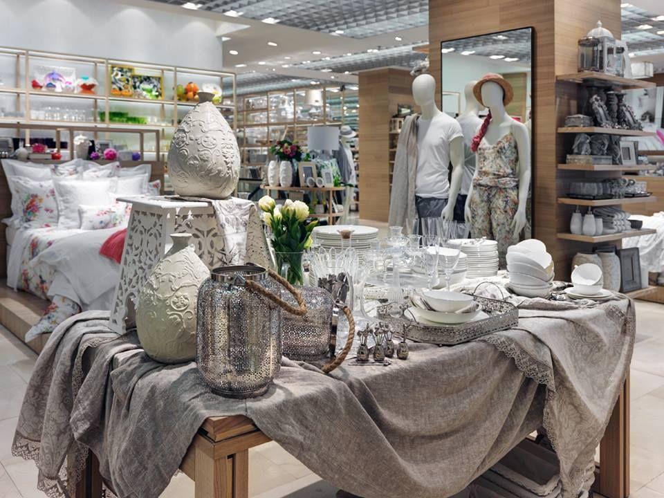 New Zara Home Store Milan Interior Visual Merchandising Table Display