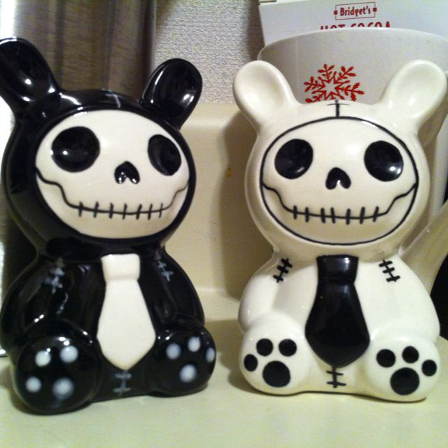 My new salt and pepper shakers.