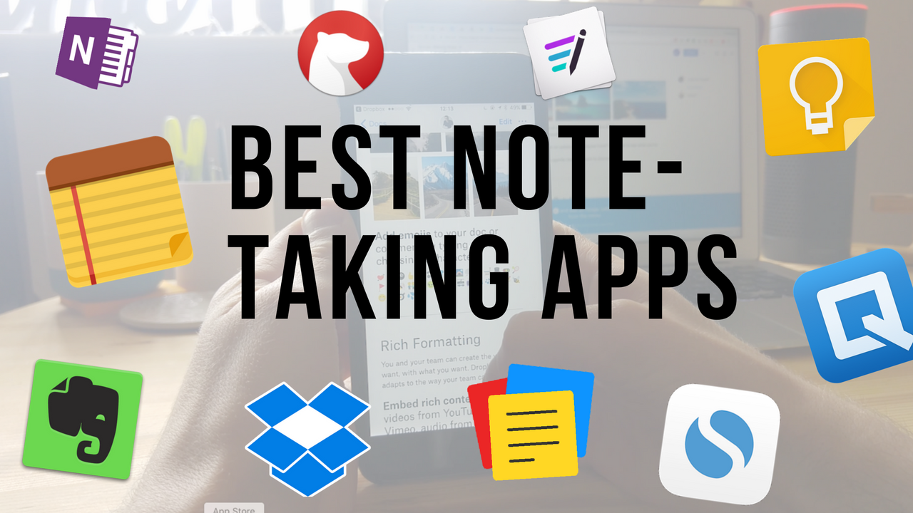 Top 10 Notetaking Apps for 2017 Iphone notes, Best