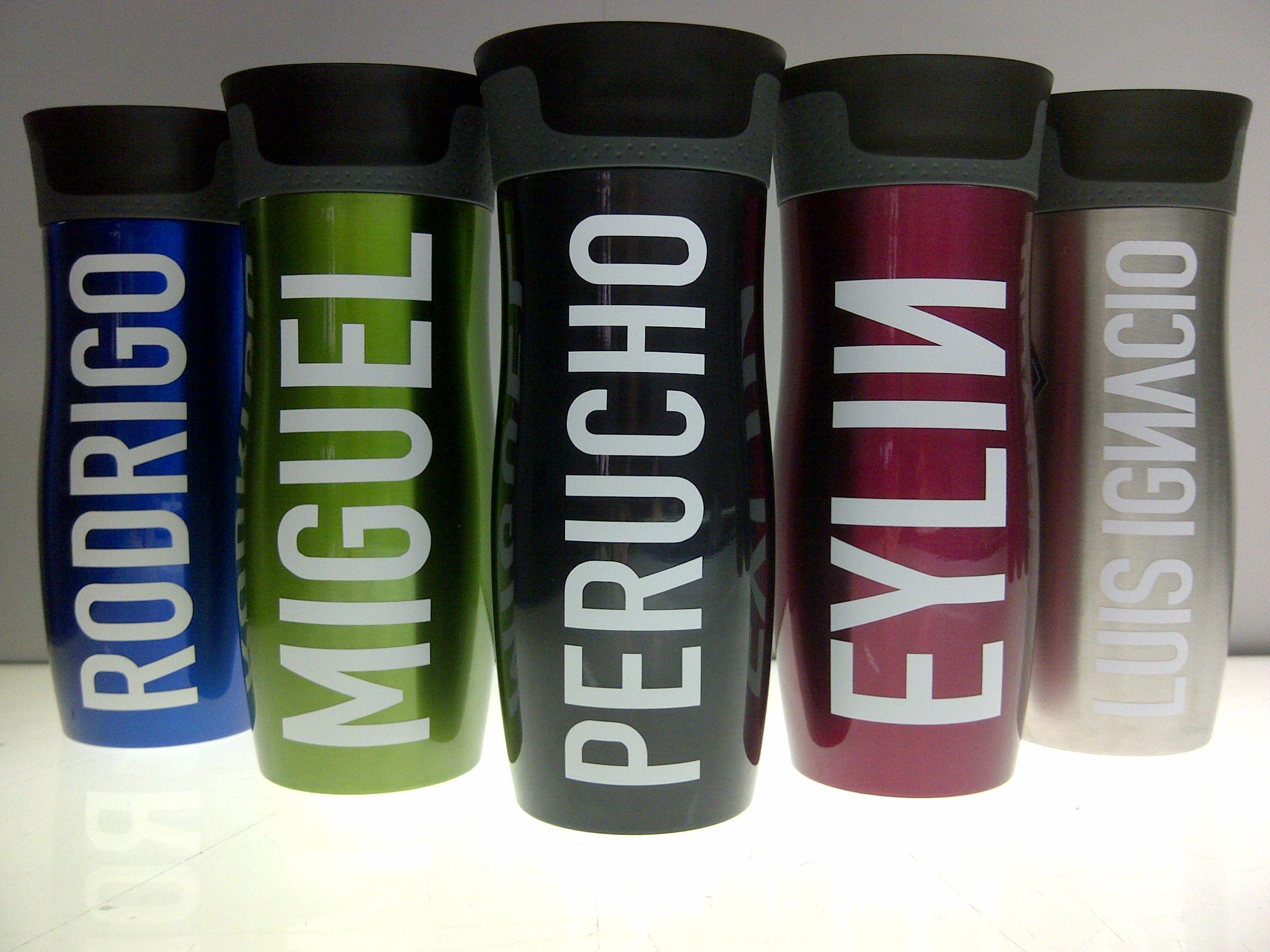 Vasos termicos metalizados vasos contigo personalizados pinterest - Vasos personalizados ...
