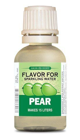 Sparkling Water Essence Pear Flavor By Arom Huset 5 99 No Colors No Sugar No Preservatives Just Pure Ess Flavored Carbonated Water Flavored Water Flavors