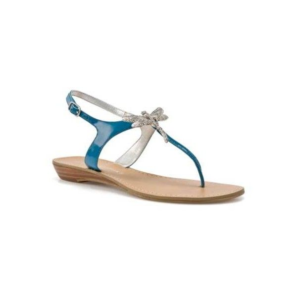 78e038c98ad Audrey Brooke Dragonfly Sandal - Blue ( 15) ❤ liked on Polyvore featuring  shoes