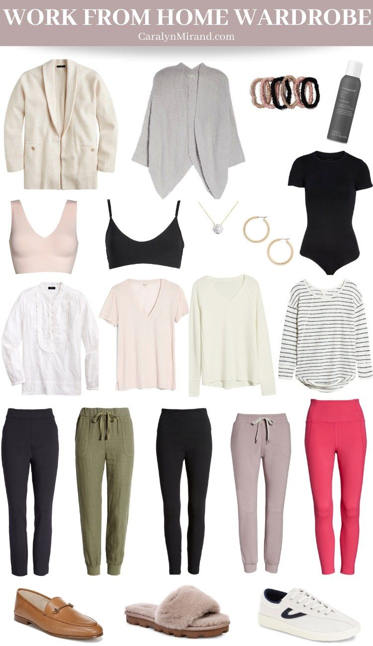 Work From Home Wardrobe — Caralyn Mirand