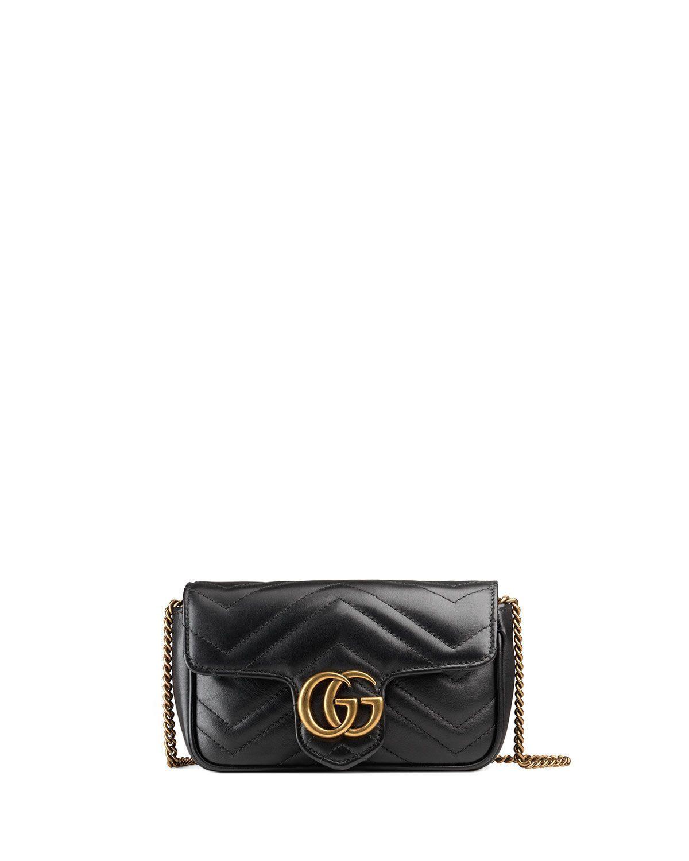 0e370d6ff71f GG Marmont Matelassé Leather Super Mini Bag   Wish.   Mini Bag ...