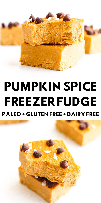Pumpkin Spice Freezer Fudge Recipe Pumpkin Fudge Food Recipes