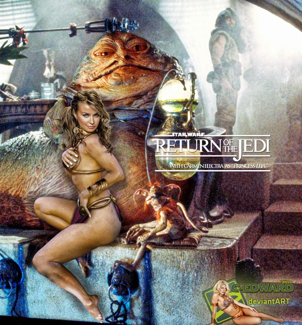 Jabba the hut sex slave