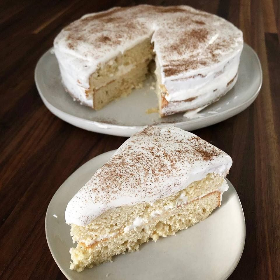 Picked Up A Magnolia Journal A Few Weeks Ago And This Eggnog Tres Leches Cake Jumped
