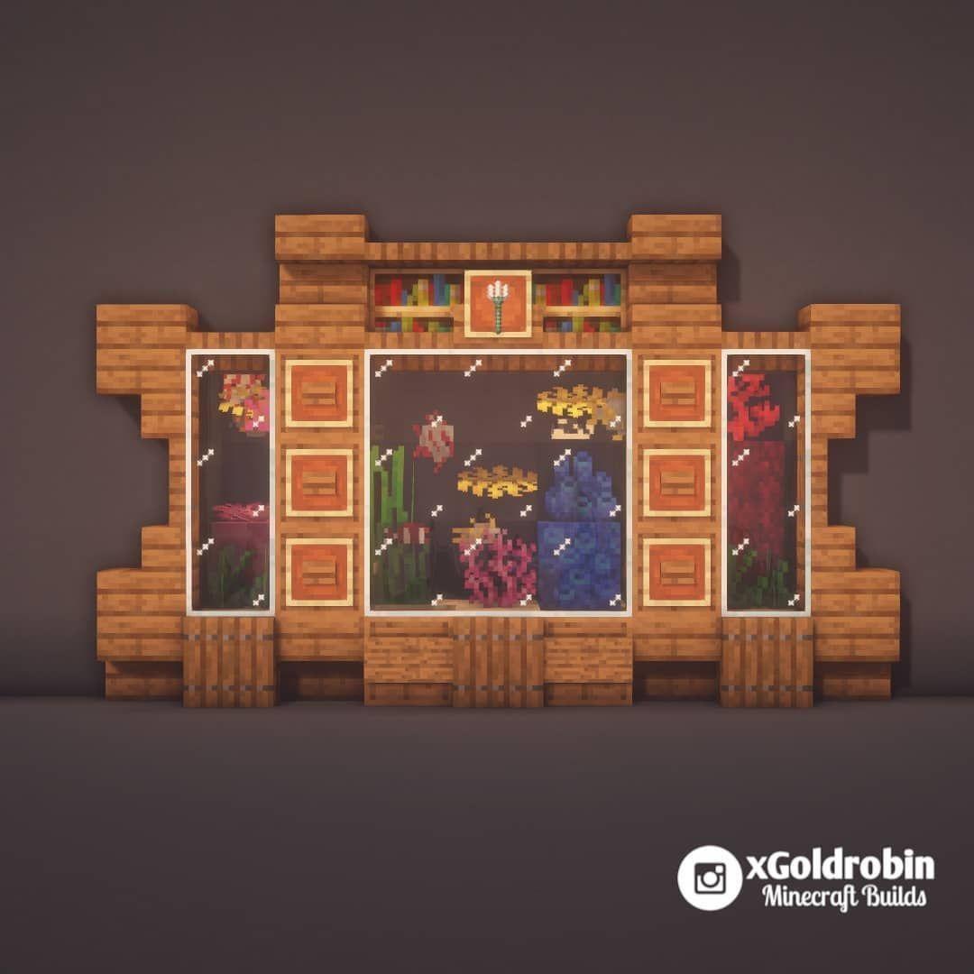 Goldrobin Minecraft Builder On Instagram Aquarium Design