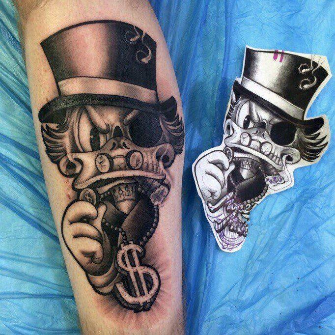Tio Patinhas Tatuagem Ideias De Tatuagens E Tatuagem