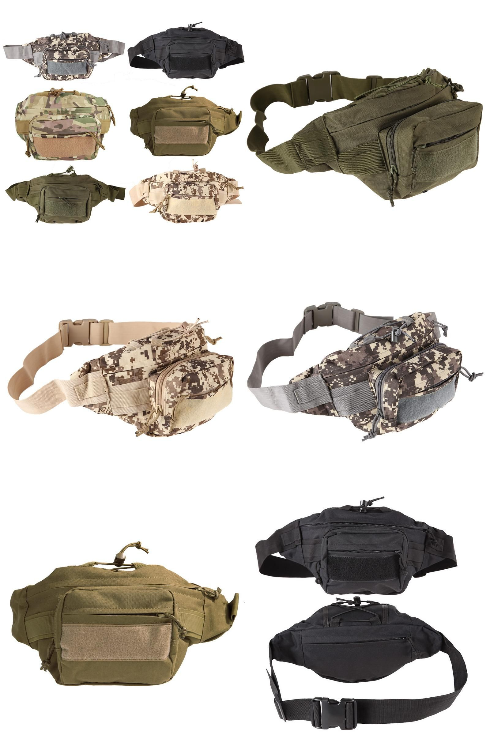 d5c93ba91dc5 Visit to Buy] Outdoor Military Waist Bag Tactical Waist Pack ...