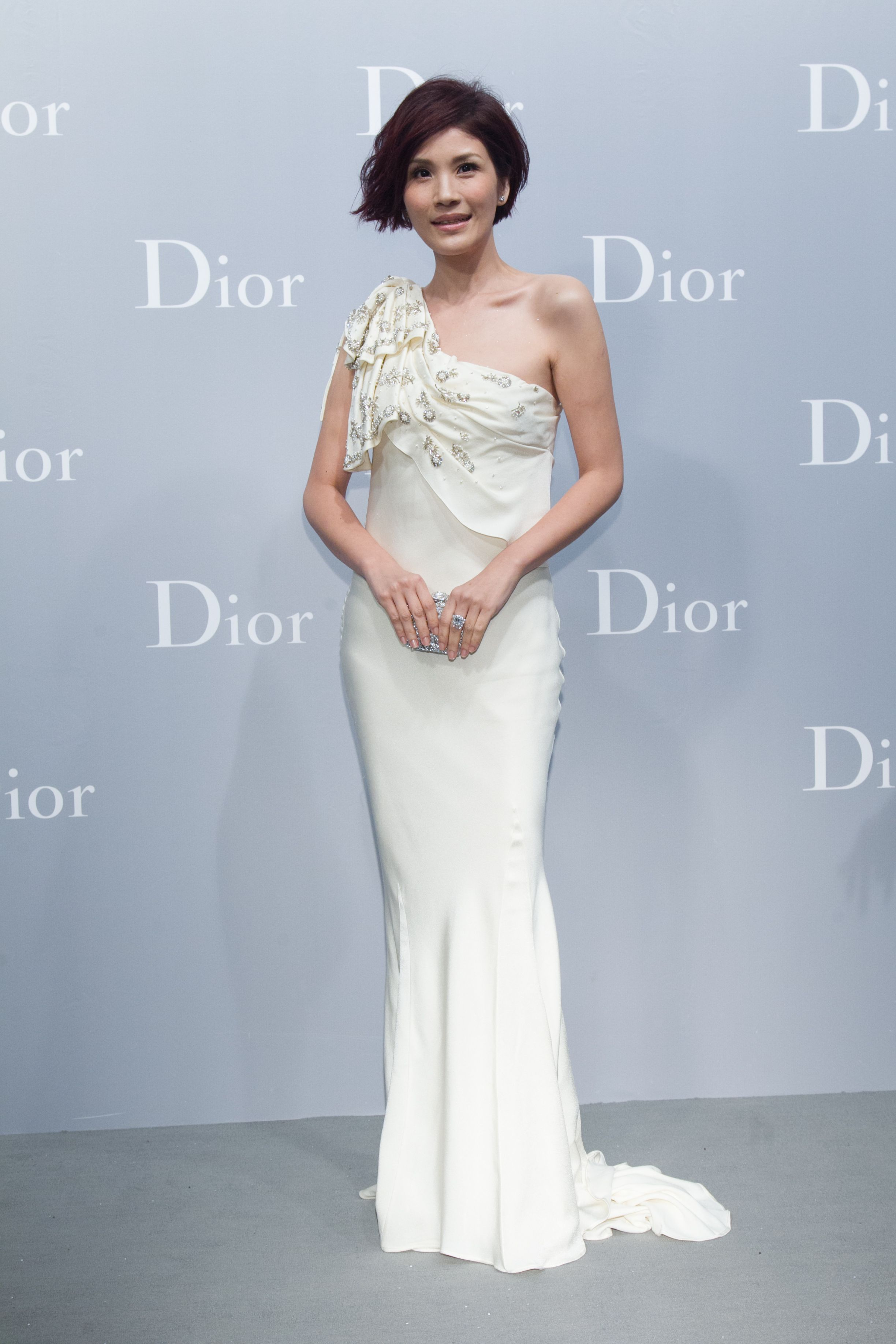 YaChi Giang at the new Dior boutique opening in Taipei. Discover ...