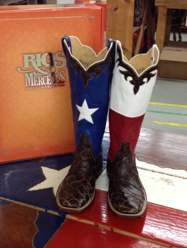 64e251473e2 A custom made pair of Rios of Mercedes cowboy boots with a lot of ...