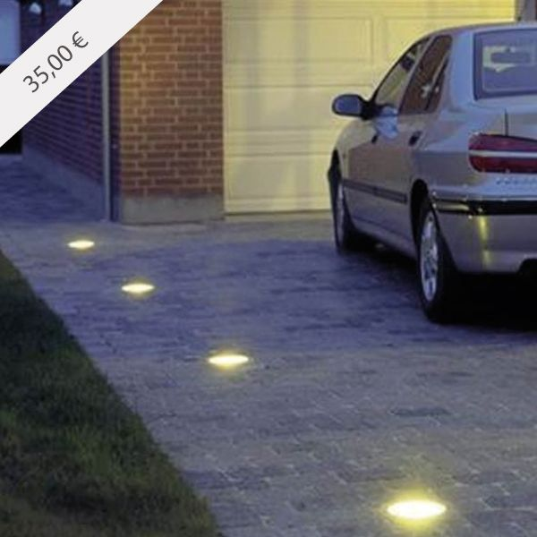 Driveway Lights B Q: Foco Empotrable De Suelo Para Exterior Acabado