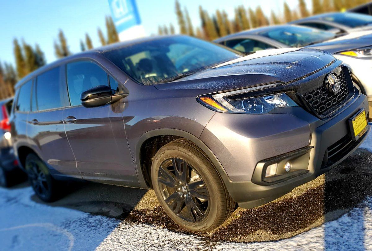 You won't fear the winter roads in a 2019 Honda Passport