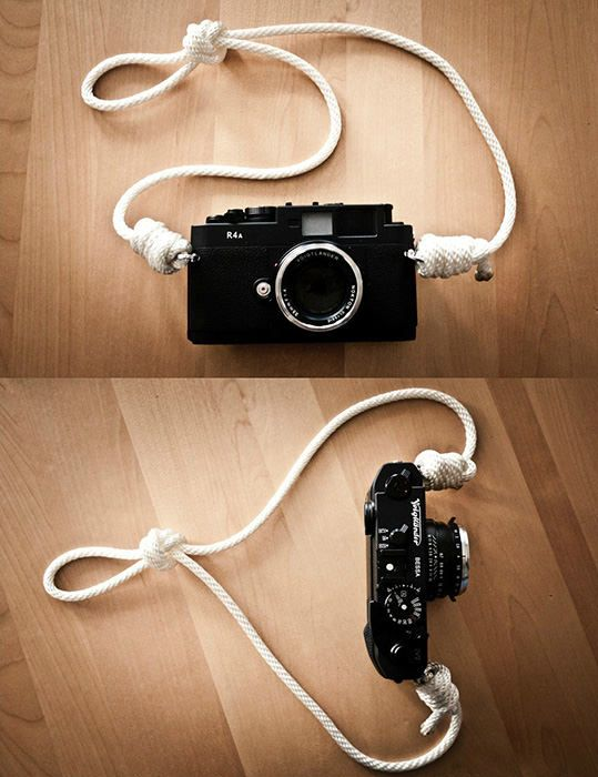 Vintage trim Camera Strap Deadstock Camera Strap Simple Camera Strap