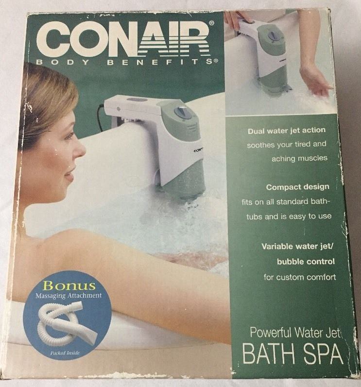 NEW Conair Body Benefits Model BTS1 Powerful Water Jet Bath Spa ...