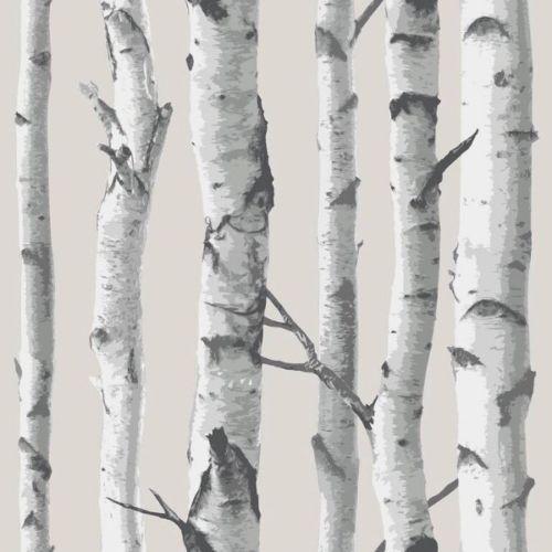 Birch Trees Peel And Stick Botanical Farmhouse Wallpaper Etsy Birch Tree Wallpaper Birches Wallpaper White Birch Trees