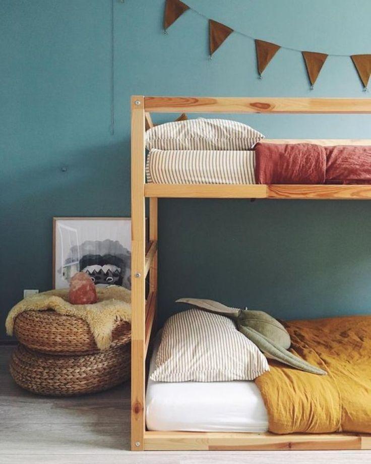 Es La Litera De Ikea Pero Sin Los Paneles Blancos Baby Room Cama
