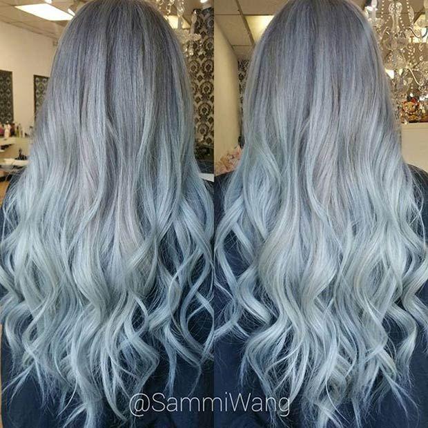 21 Stunning Grey Hair Color Ideas and Styles   Gray hair, Hair ...