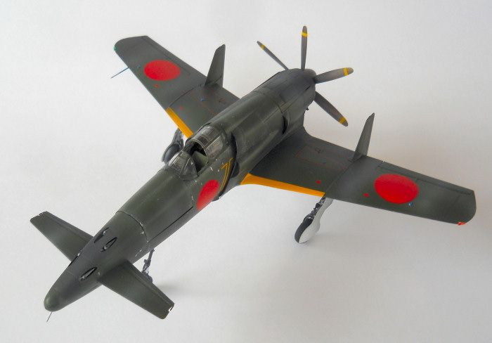 Check out our build review of the Zoukei-Mura 1/48 J7W1 Shinden kit