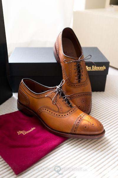 16c93df74b63 Allen Edmonds Strand Cap Toe Oxfords Men Dress, Dress Shoes, Life Hacks,  Oxford
