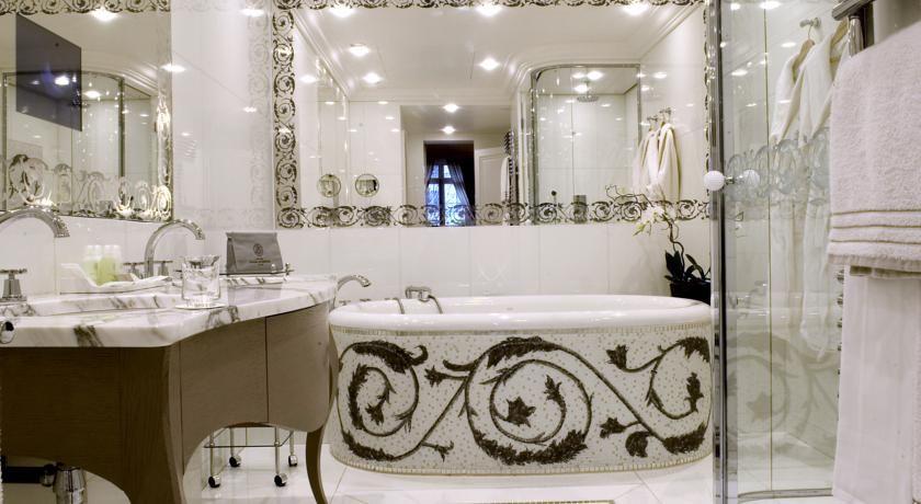 Hotel Plaza Athenee Paris France  Booking  Bath Rooms Mesmerizing Luxury Hotel Bathroom Design Ideas