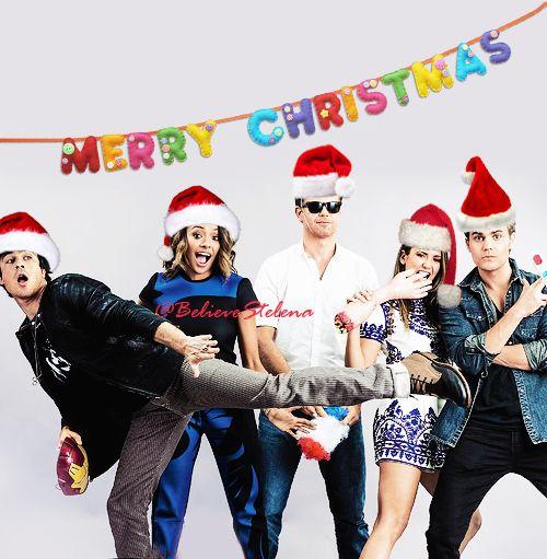 Merry Christmas cast #TVD