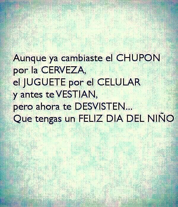#diadelniño
