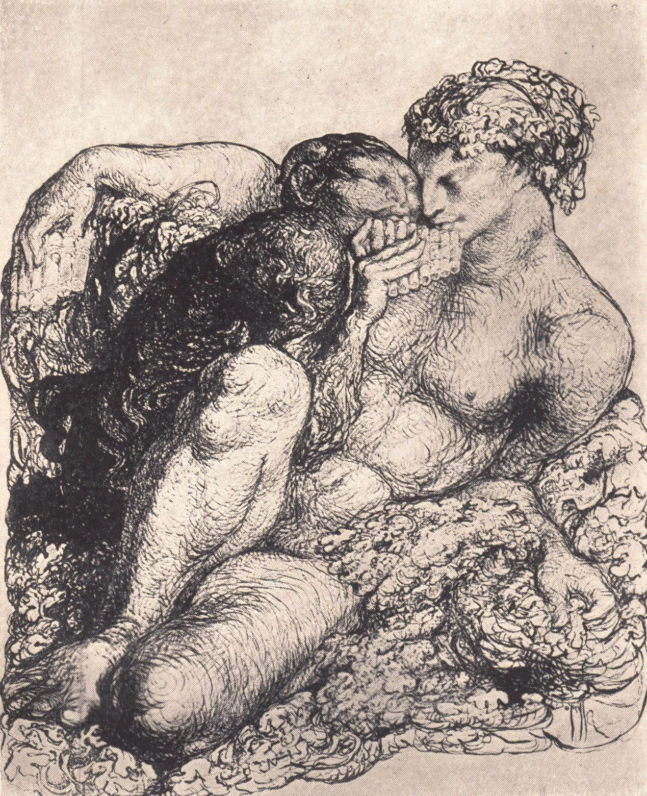 "Resultado de imagen de rose o´neill ""The Faun weeps"""