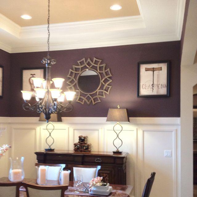 Dark Purple Purple Dining Room Dining Room Colors Purple Dining Room Walls