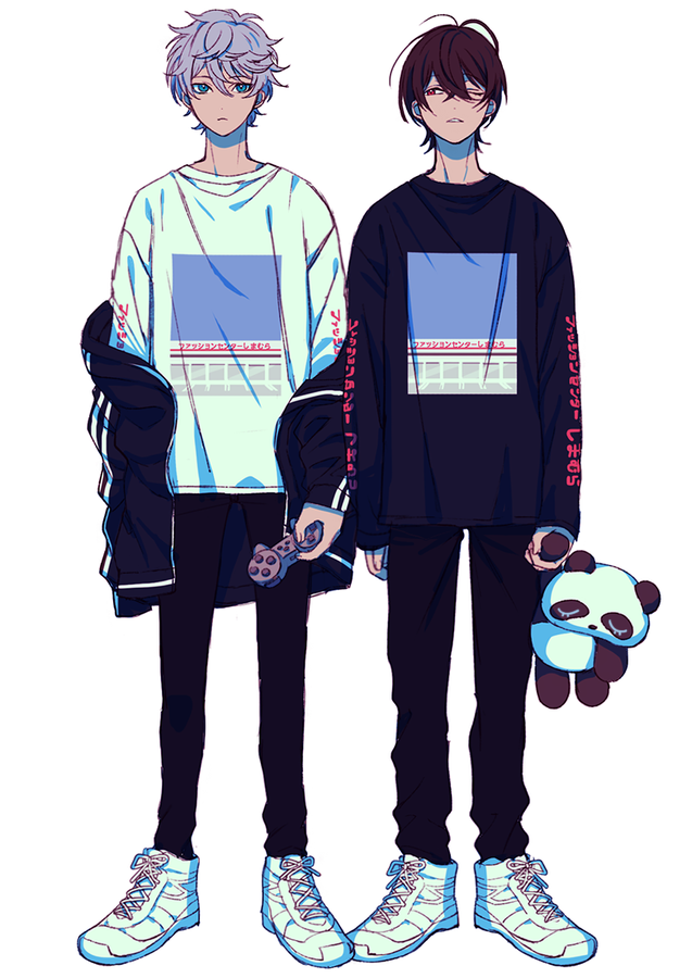 Anime Boy Clothes : anime, clothes, Được, Nhúng, Outfits,, Illustration