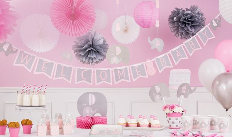 Baby Shower Nina Elefante Decoracion.Decoracion Baby Shower Nina 24 Ideas Estupendas Baby