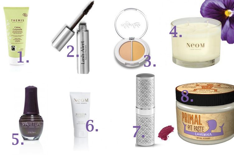 autumn organic beauty wishlist 2013