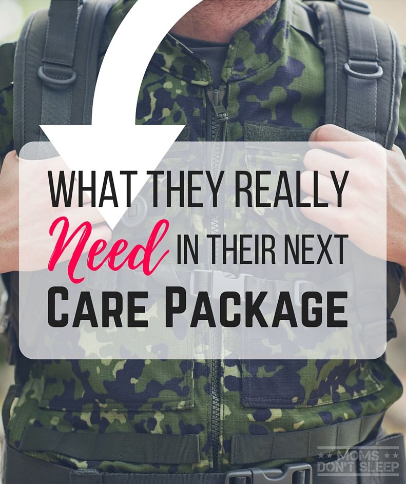 What They Really Need In Their Next Care Package | Care Package ...