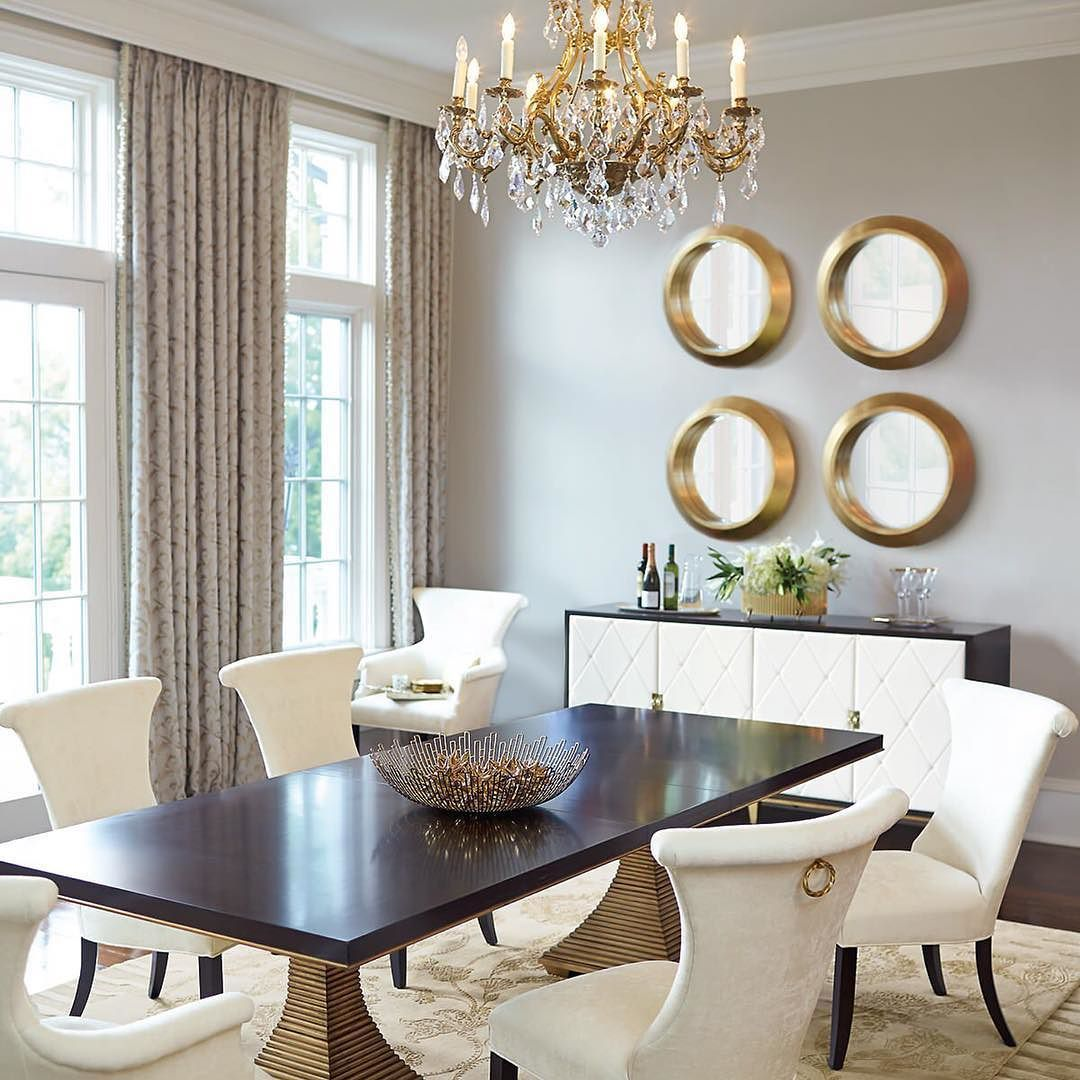 Houzz On Instagram Diningroom Home Bedroom Homedecor Bathroom Apartment Garden Housed Dinning Room Tables Dining Room Wall Decor Side Chairs Dining