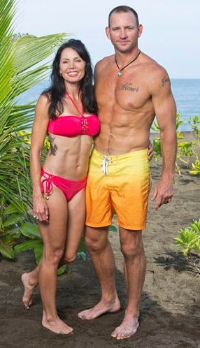 Former Nfl Player Brad Culpepper And His Wife Monica Join The Cast Of Survivor Spousesinsports Nfl Nflwife Footballwife Wags Survivor