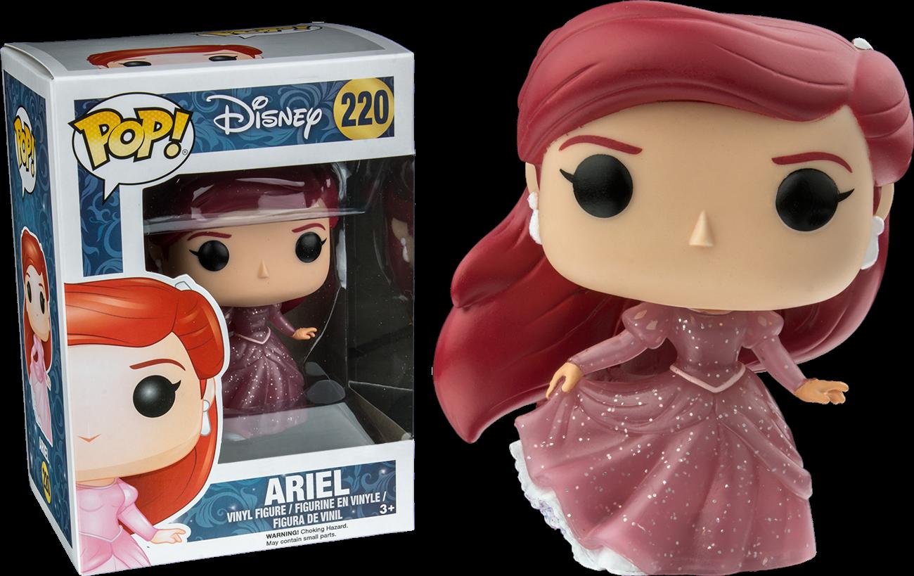 Ariel Pink Glitter Gown Funko Pop! The Little Mermaid