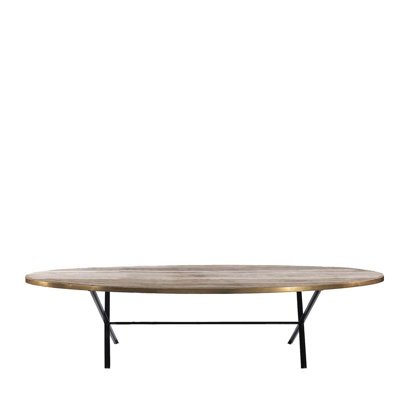The Oval Dining Table B B For Reschio In 2021 Oval Table Dining Dining Table Marble Dining Table