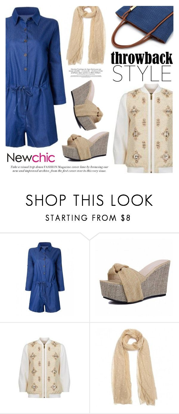 """""""Newchic/Lovenewchic"""" by helenevlacho ❤ liked on Polyvore featuring Ted Baker and newchic"""