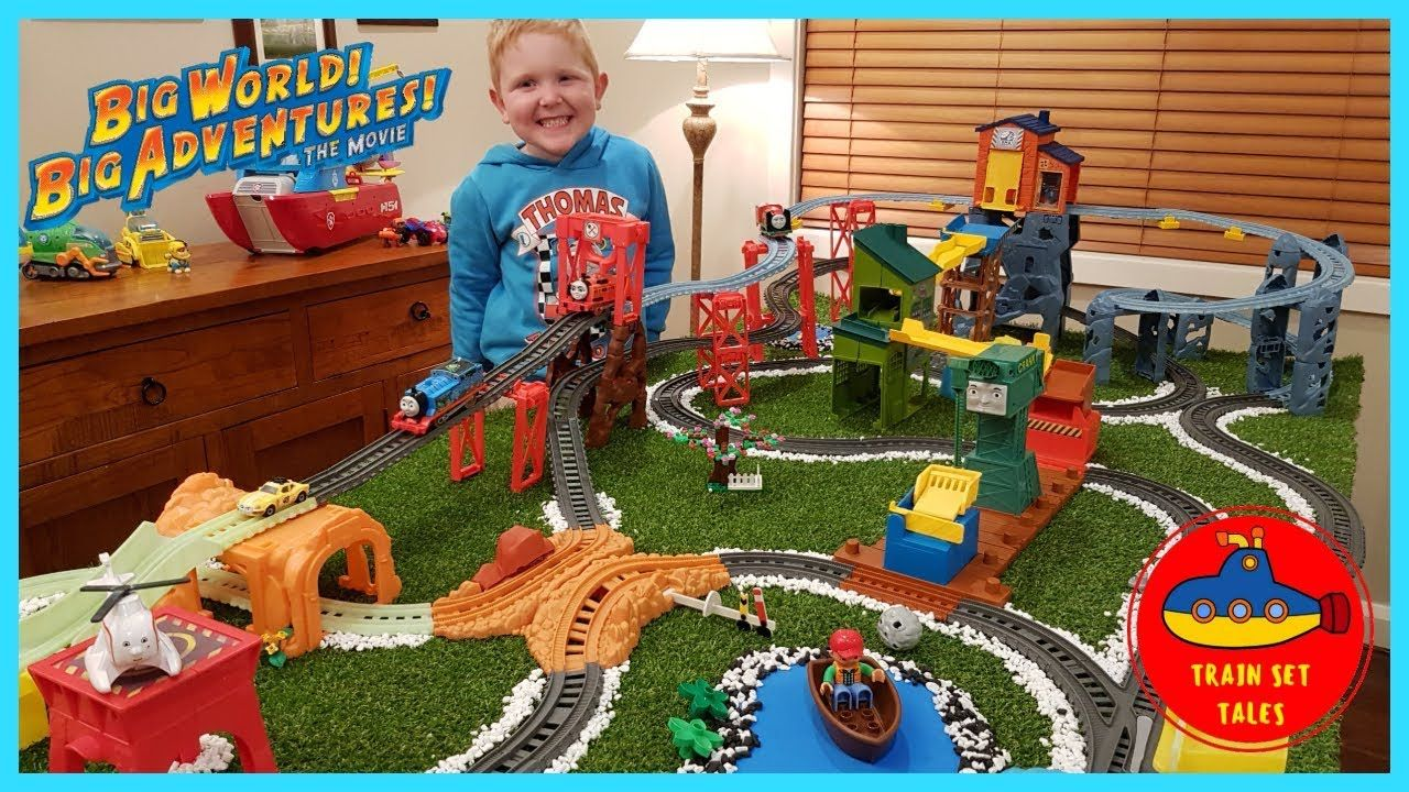 e88d4cd90 Mega Track | Big World Big Adventures Trains | Thomas and Friends  TrackMaster | Part 2