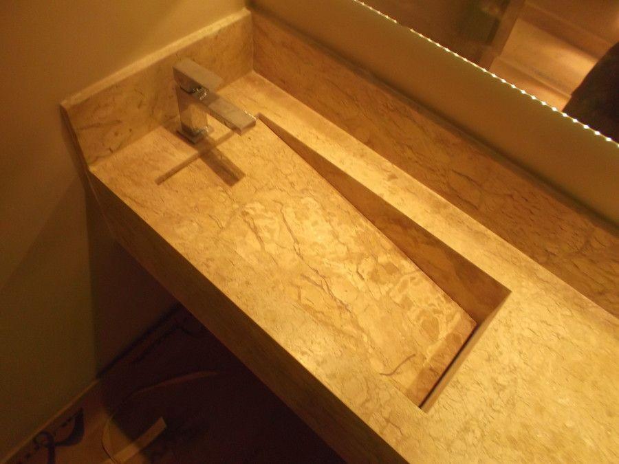 Resultado de imagem para pia banheiro marmore