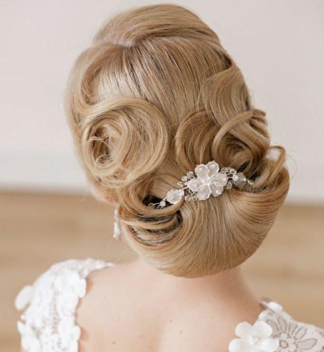 Coiffure pour mariage cheveux longs idées pour votre