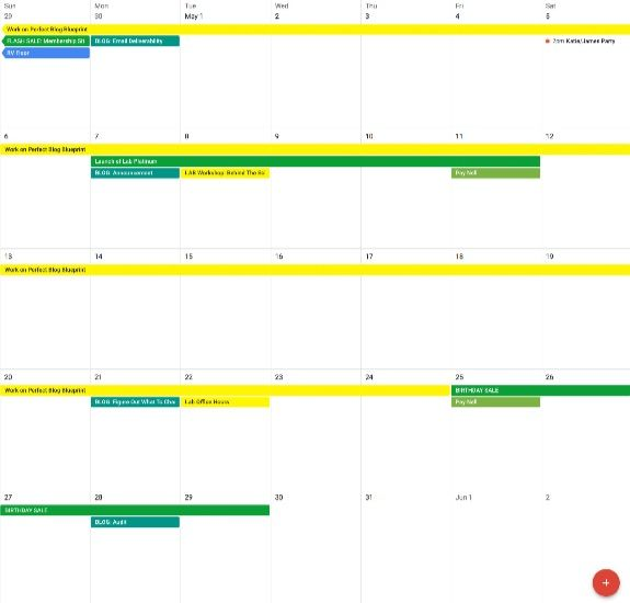 Content Marketing Strategy Plan Your Content Calendar In Advance